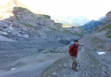 Gamchi Gletscher