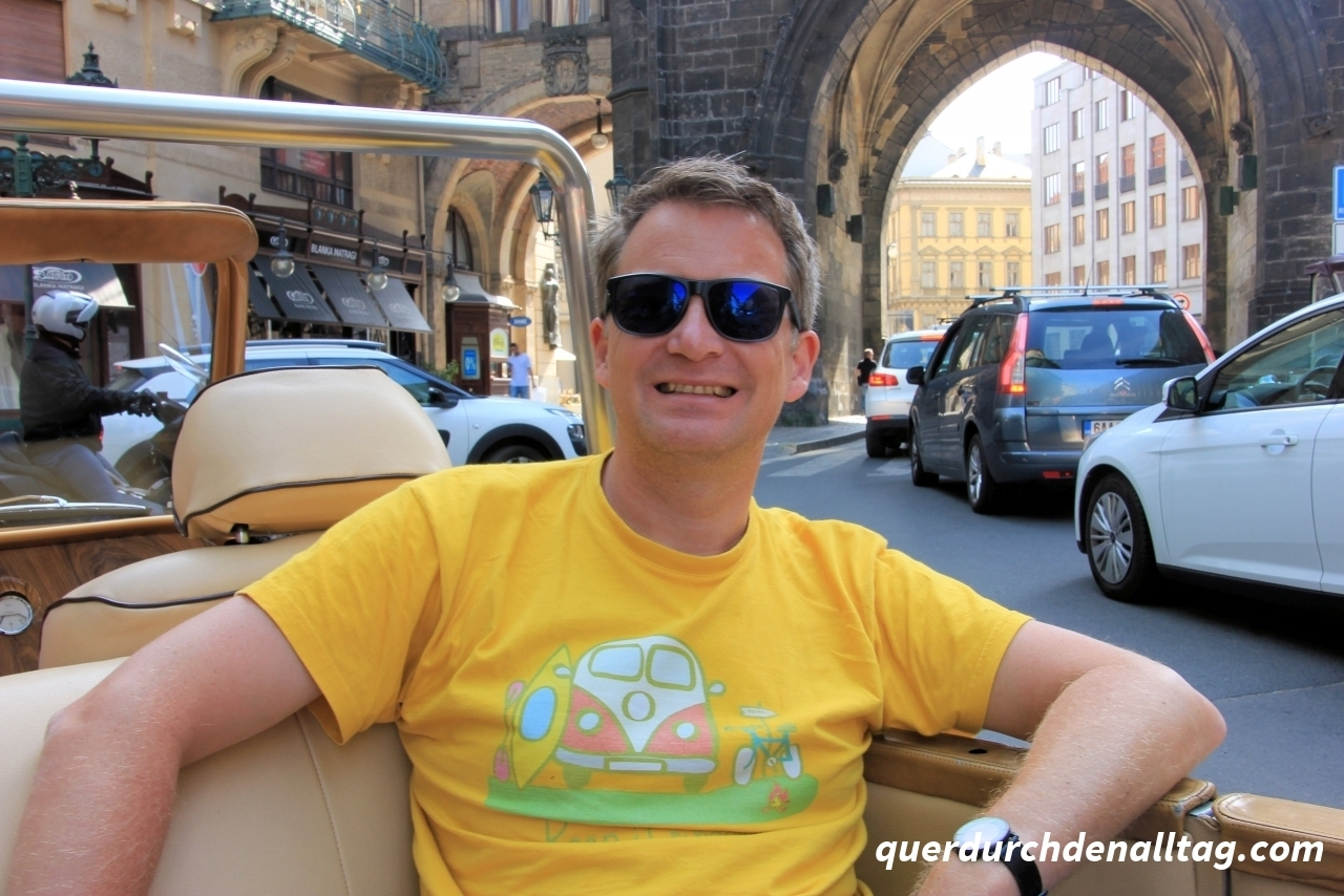 Oldtimer-Rundfahrt in Prag