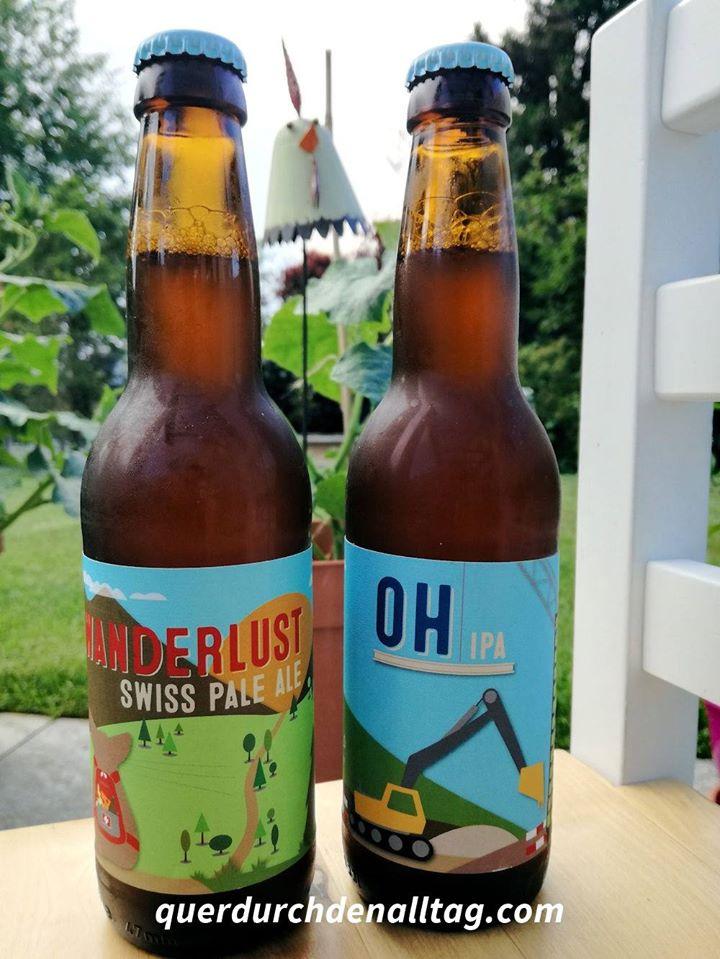 OH IPA & Wanderlust Swiss Pale Ale