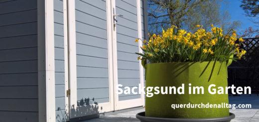 Sackgsund Garten Haus