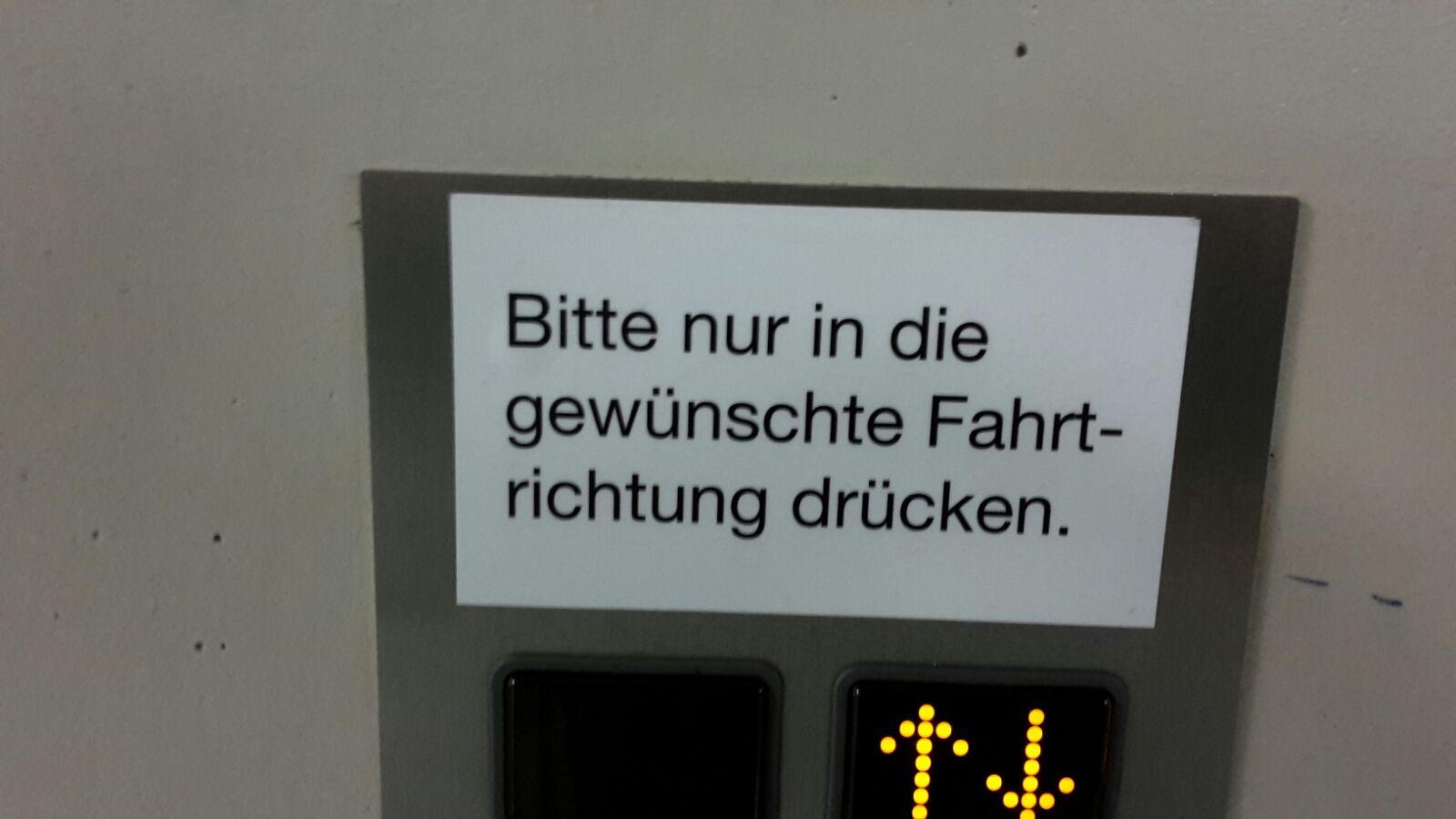 Fahrstuhl Migros Hochdorf