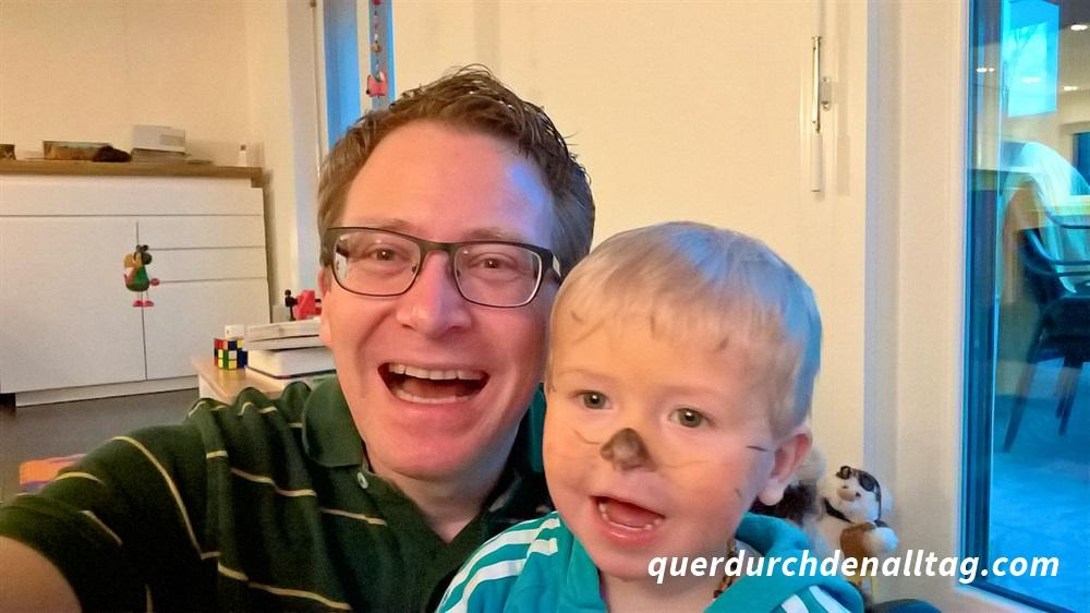 Papi und Kind