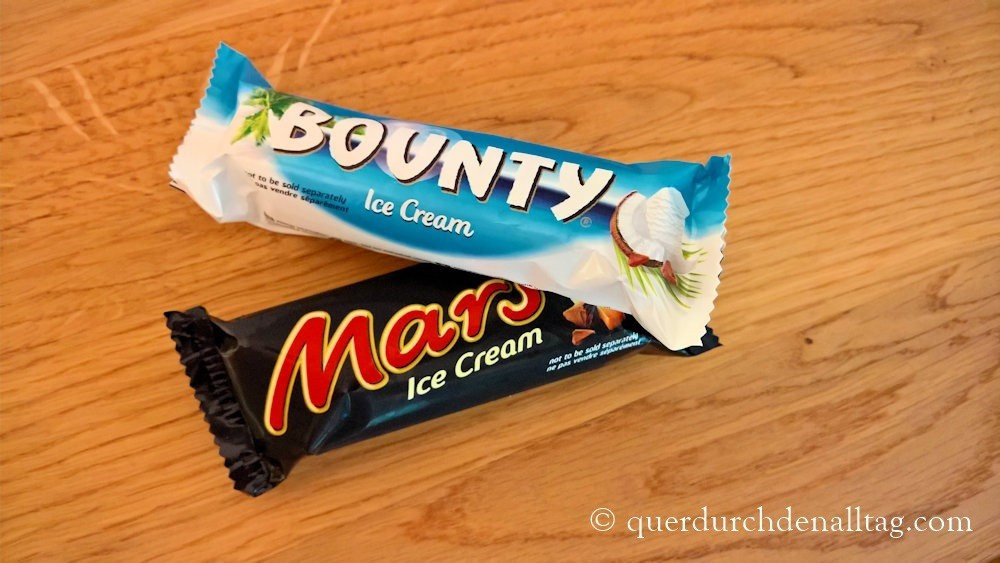 Sommer Glace Mars & Bounty