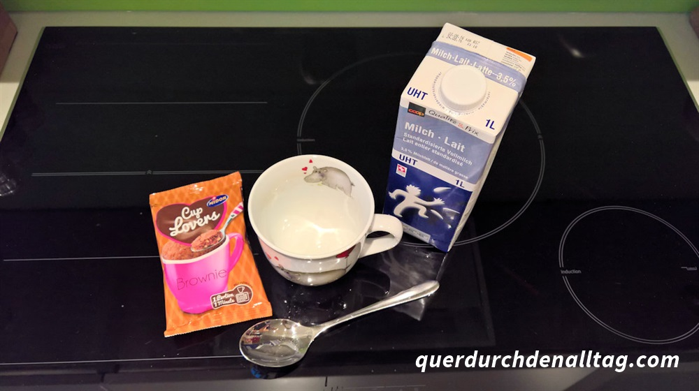 Instant-Kuchen Backen