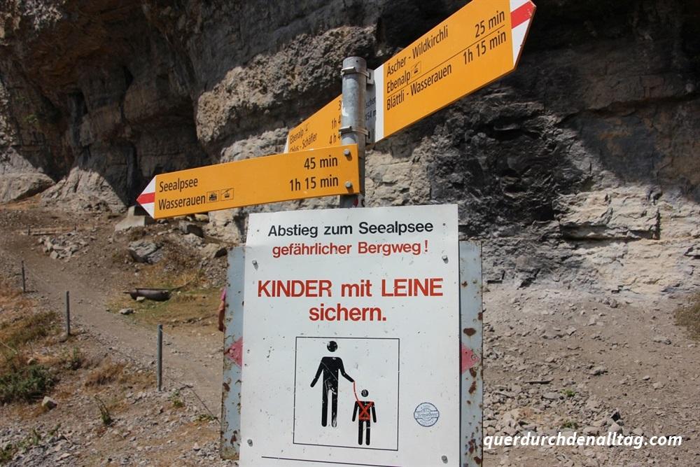 Wanderung Ebenalp Aescher