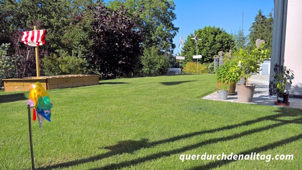 Zu Hause im Garten Haus