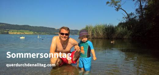 Sommer Sonntag Greifensee