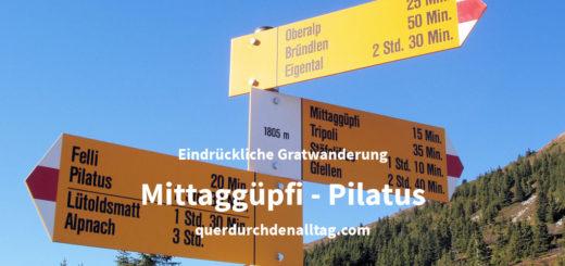 Gratwanderung Mittaggüpfi Pilatus