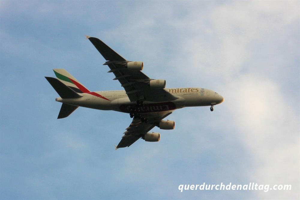 Flughafen Zürich A380 Emirates