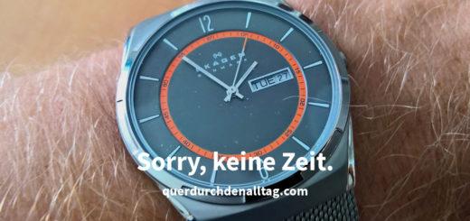 Sorry keine Zeit Uhr