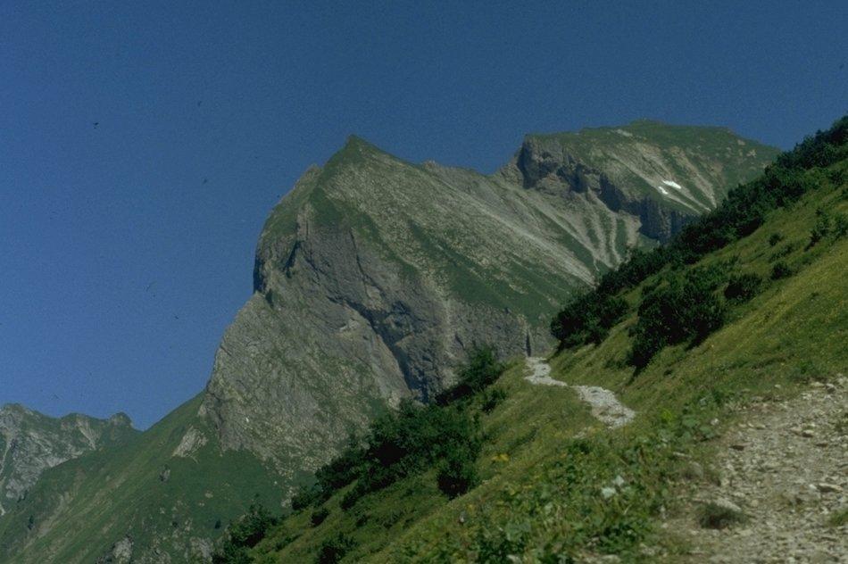 Himmelhorn in den Allgäuer Hochalpen nahe Oberstdorf
