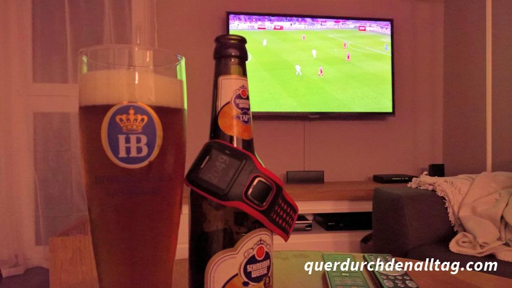 Fussball TV Bier