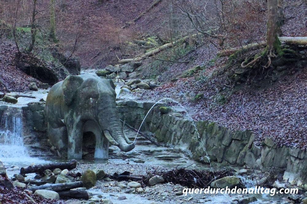 Wasserwunder Zürich Elefantenbach