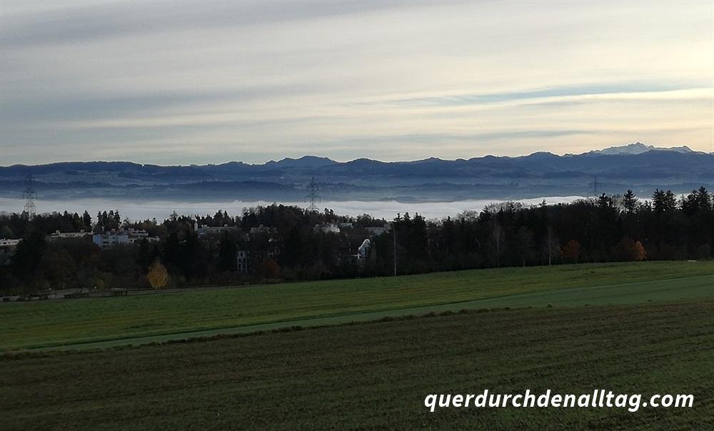 Pfaffhausen Herbst Nebel Greifensee