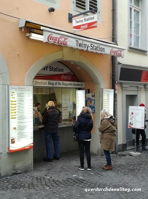 Twiny Station Schnitzelbrot Stadt Luzern