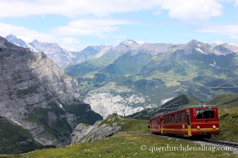 Wandern Bärentrek Jungfrau Eiger