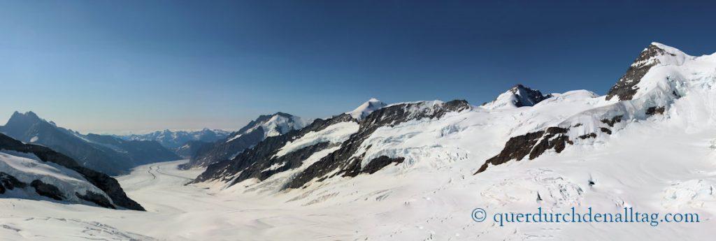 Wandern Jungfrau Mönchsjochhütte