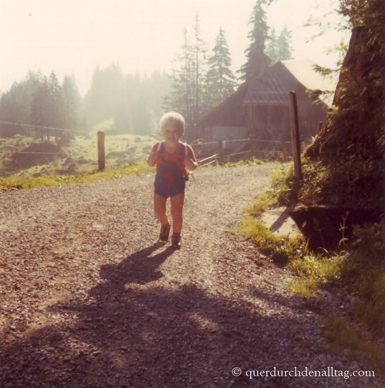 Wandern Kindheit