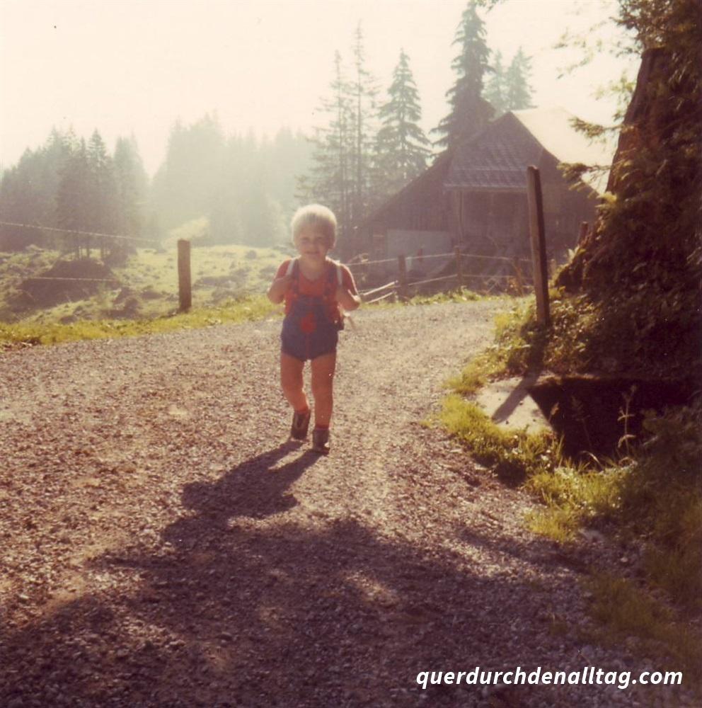 Wandern Rigi Kind