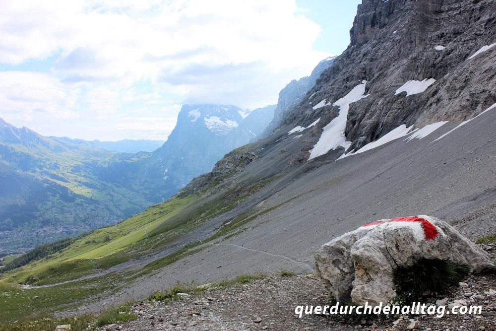 Wandern Bärentrek Grindelwald Eigertrail