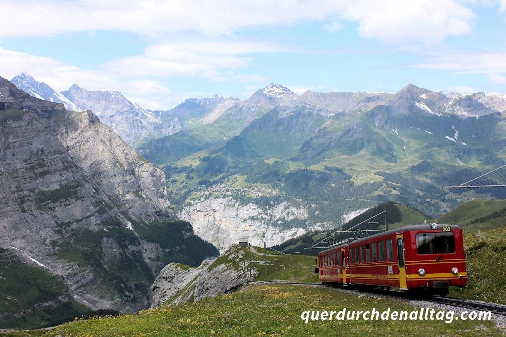 Wandern Bärentrek Grindelwald Eigergletscher Kleine Scheidegg
