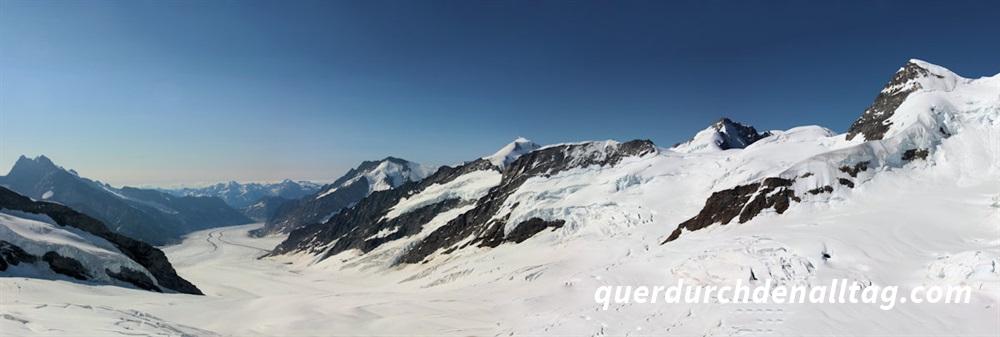 Wandern Jungfraujoch