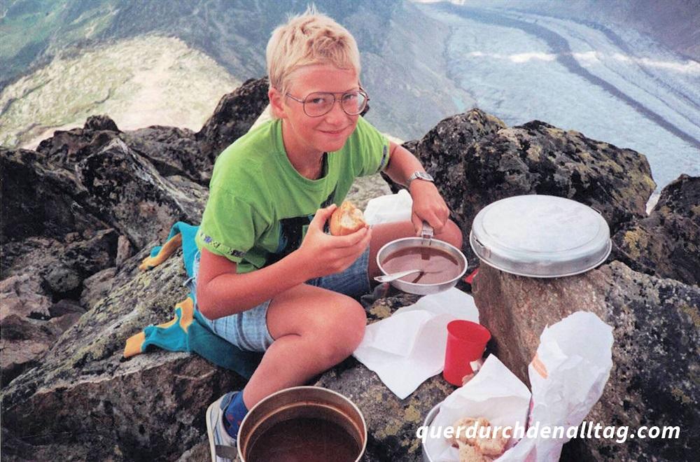 Wandern Kind Familie Bettmerhorn Aletschgletscher
