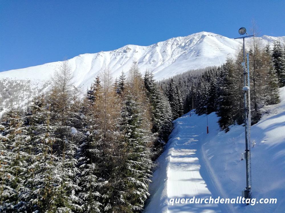 Skiferien Fendels Schnee Winter