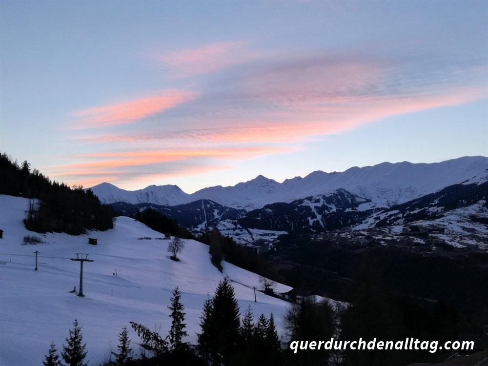 Skiferien Winter Fendels