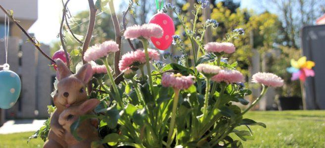 Garten Frühling Ostern
