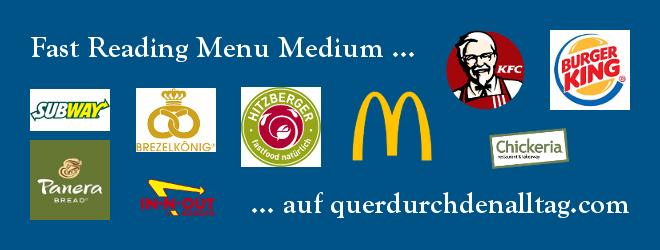 Fast Food Gesund Essen