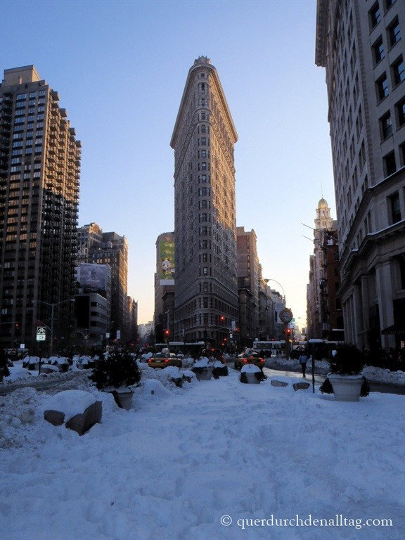 New York Manhattan Flatiron Building