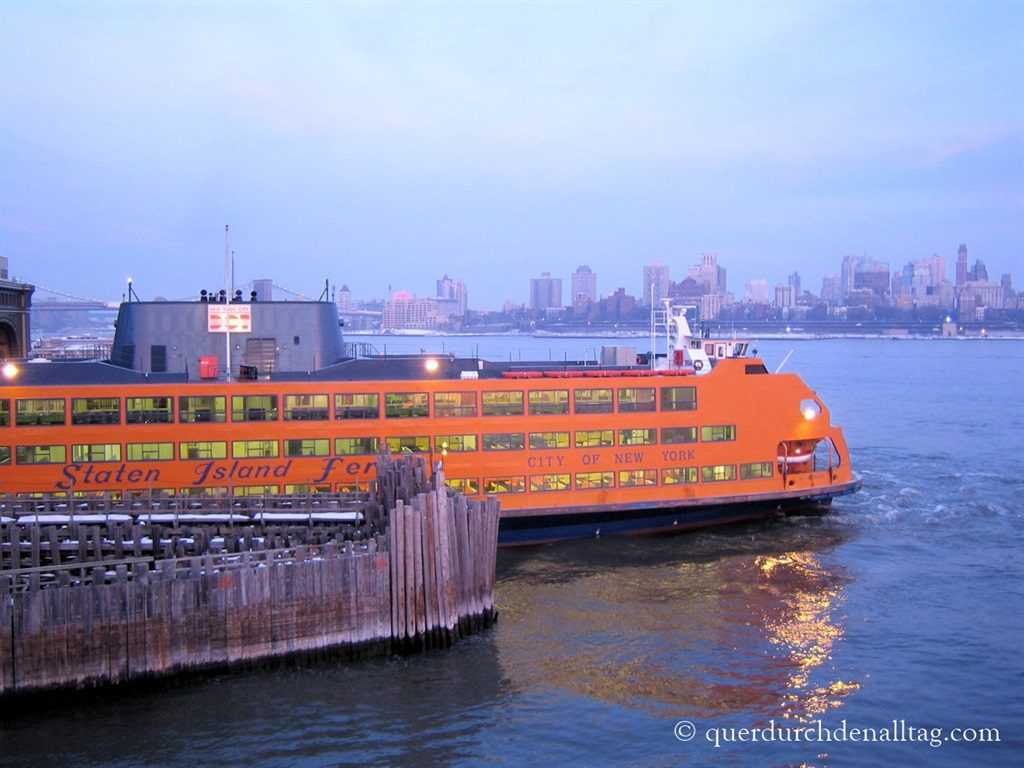 New York Staten Island Ferry