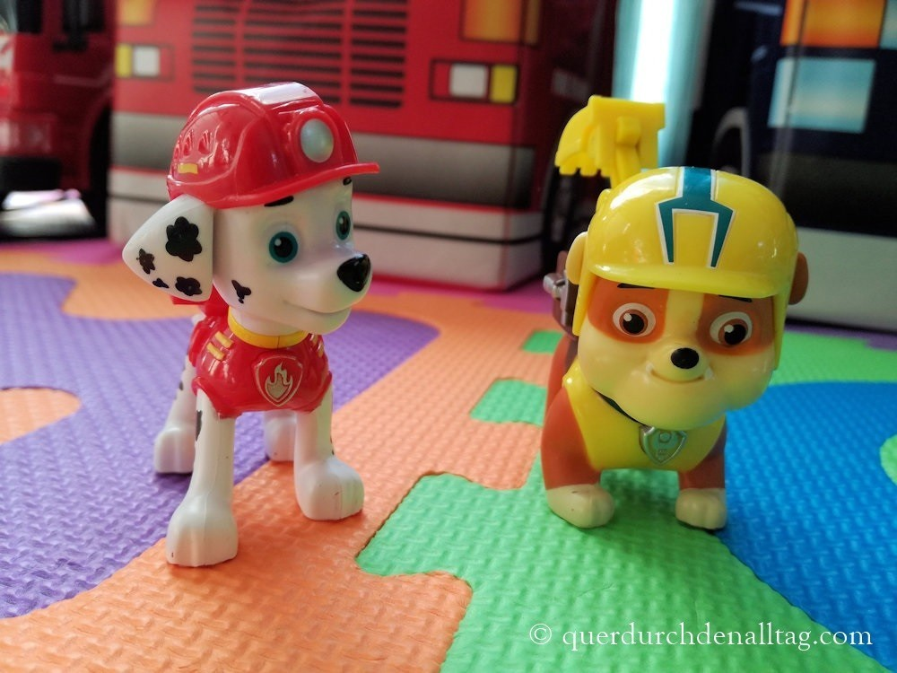 Paw Patrol Marshall Rubble
