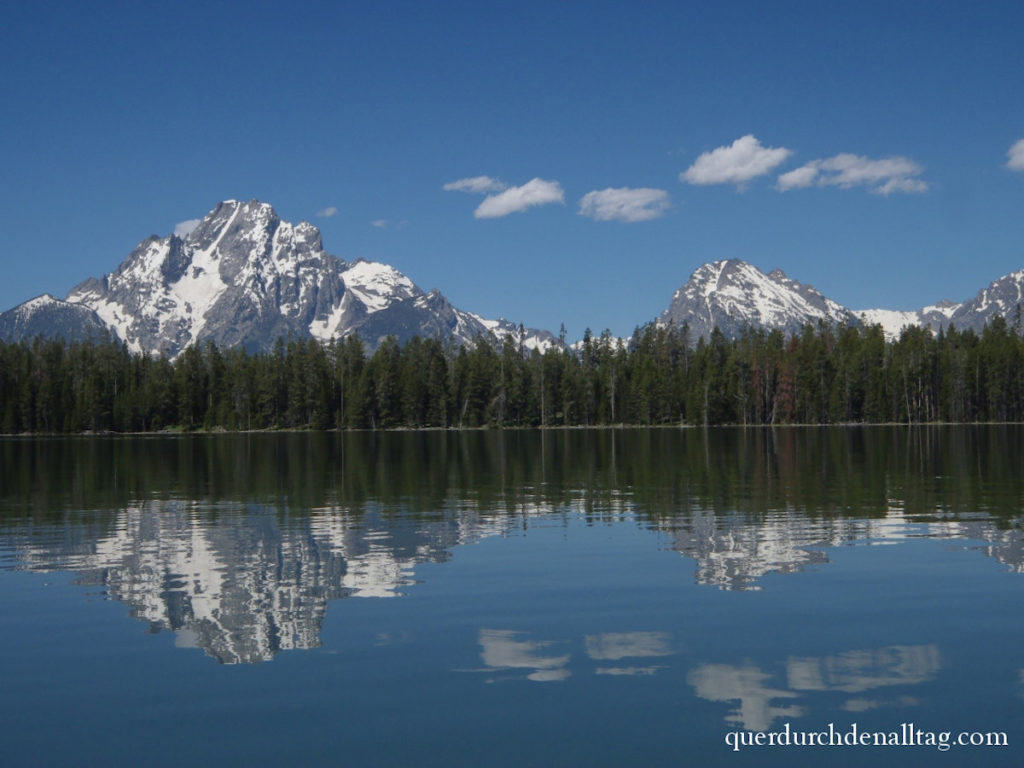 USA Grand Teton Jackson Lake