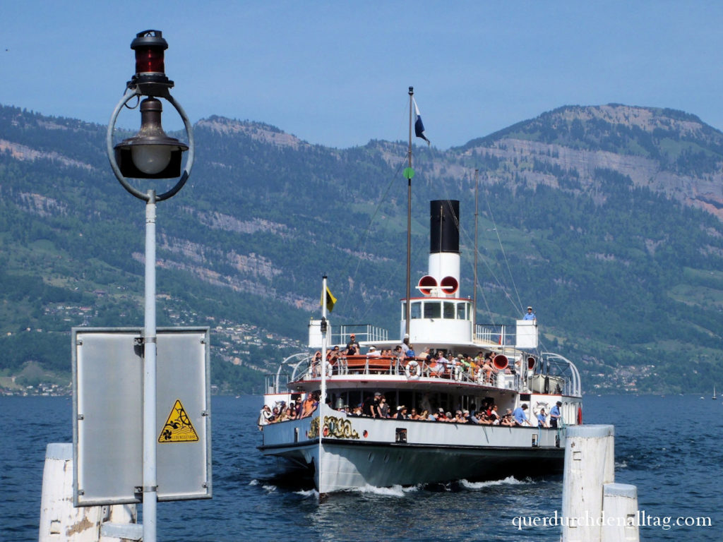 Vierwaldstättersee Dampfschiff Bürgenstock