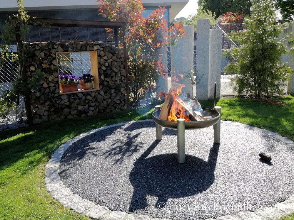 Garten Feuerschale Grill