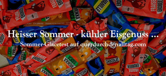 Glacetest Sommer Eis