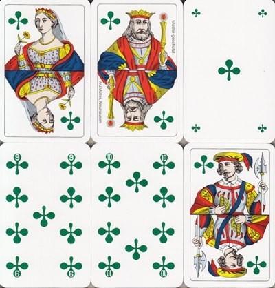 Jasskarten Kreuz Französisch