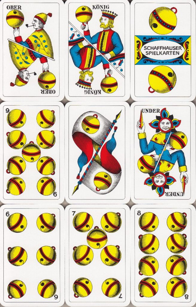 Jasskarten Schellen Deutschschweiz