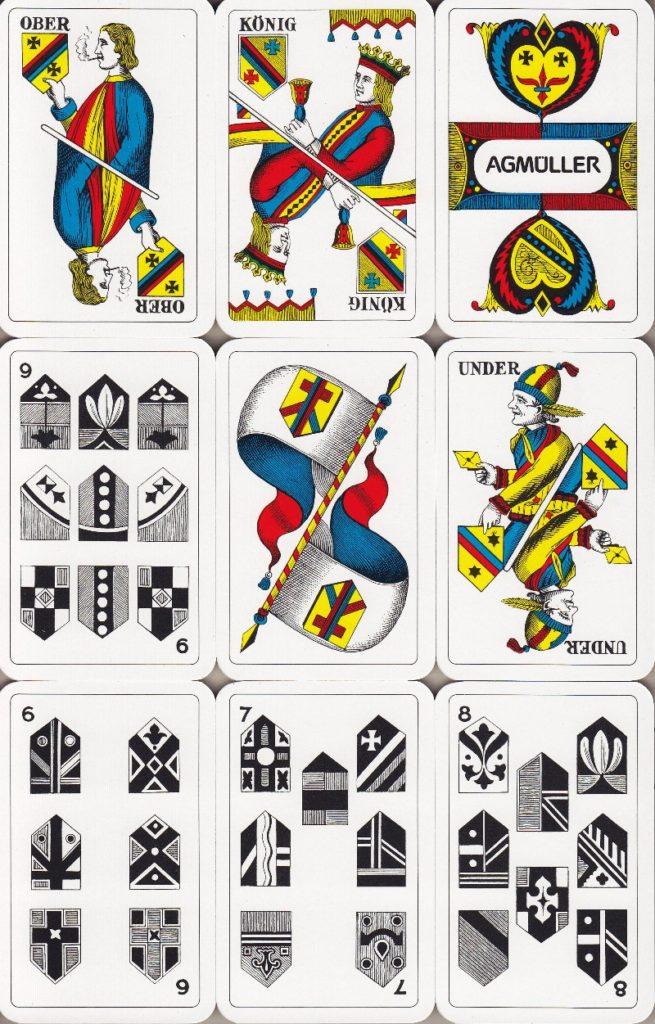 Jasskarten Schilten Deutschschweiz