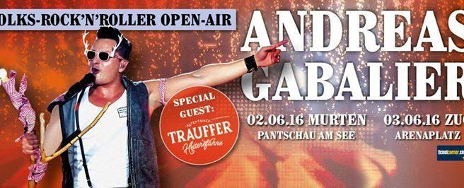 Open Air Gabalier Trauffer