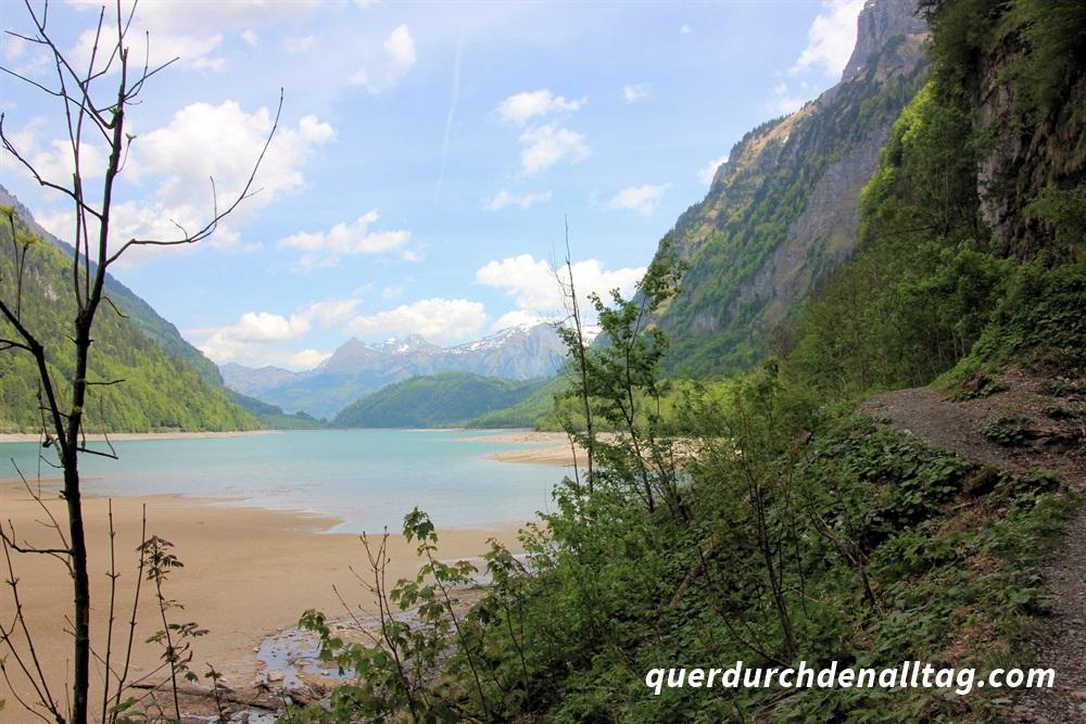 Wanderung Klöntalersee Glarus