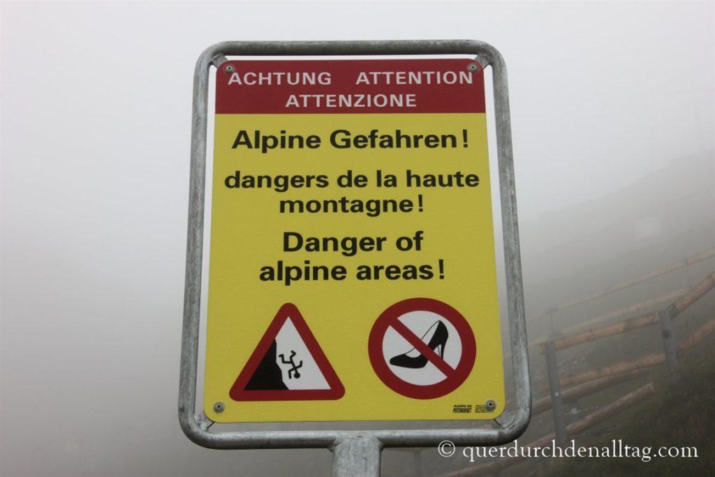 Pilatus Luzern Gefahren