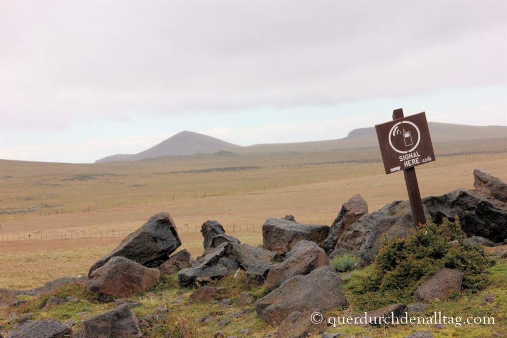 Patagonien Chile Zelt