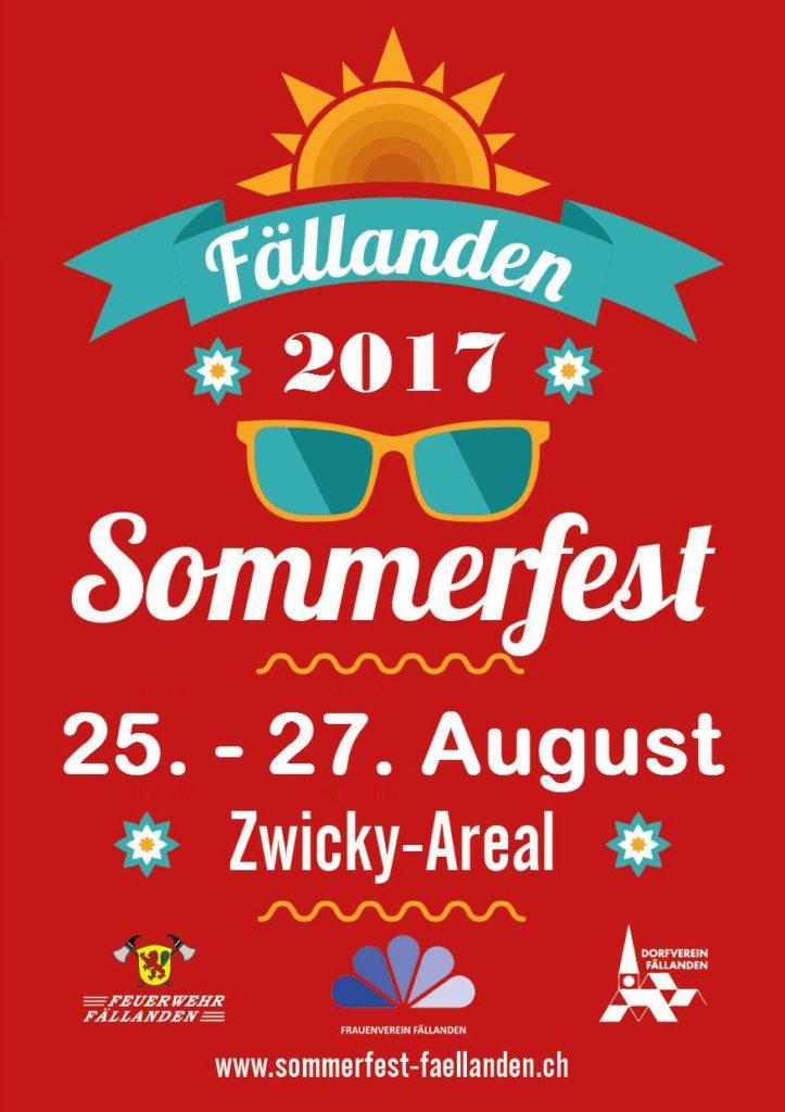 Sommerfest Fällanden 2017
