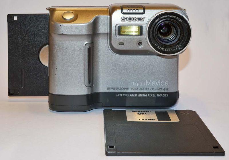 Sony Mavica FD83