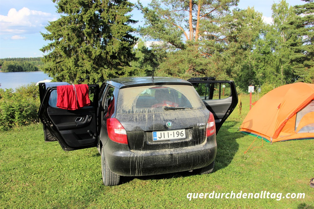 Reisen Zelt Schlafen Finnland