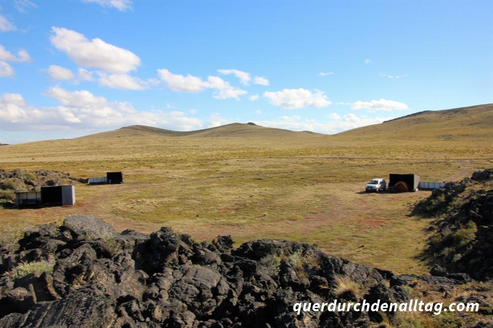 Reisen Zelt Schlafen Patagonien