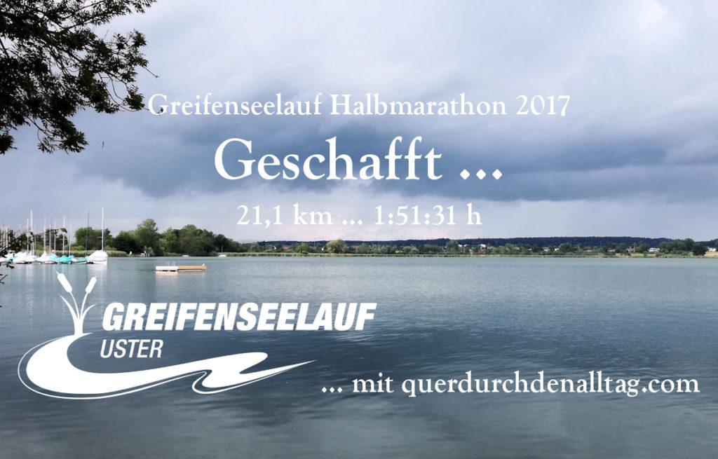 Greifenseelauf 2017 Geschafft